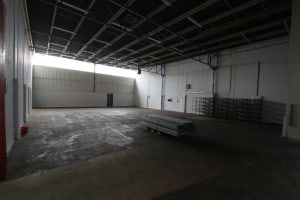 Unit 16 warehouse before refurbishment