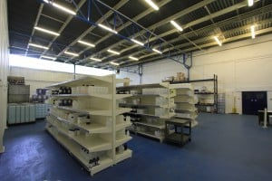 Unit 16 warehouse after refurbishment