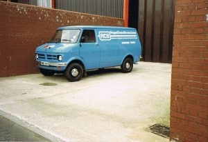 The RCS delivery van