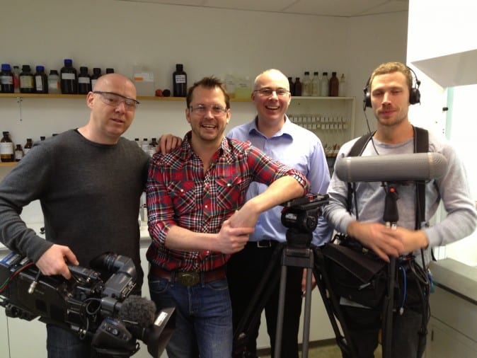 Darren Wilson, Jimmy Doherty and the Channel 4 team
