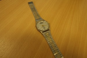 The RCS watch given to staff