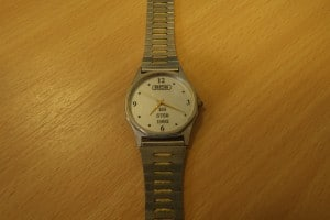 The RCS watch to mark our BS 5750 accreditation