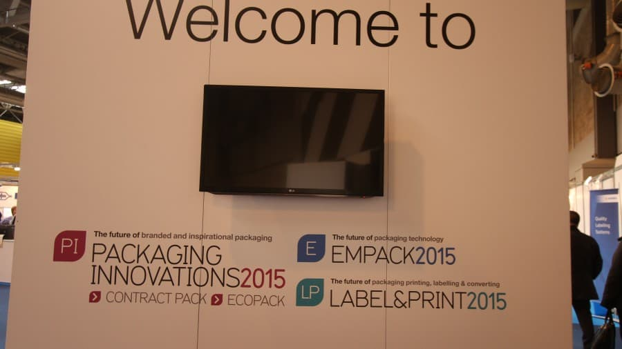 ReAgent attended packaging innovations 2015