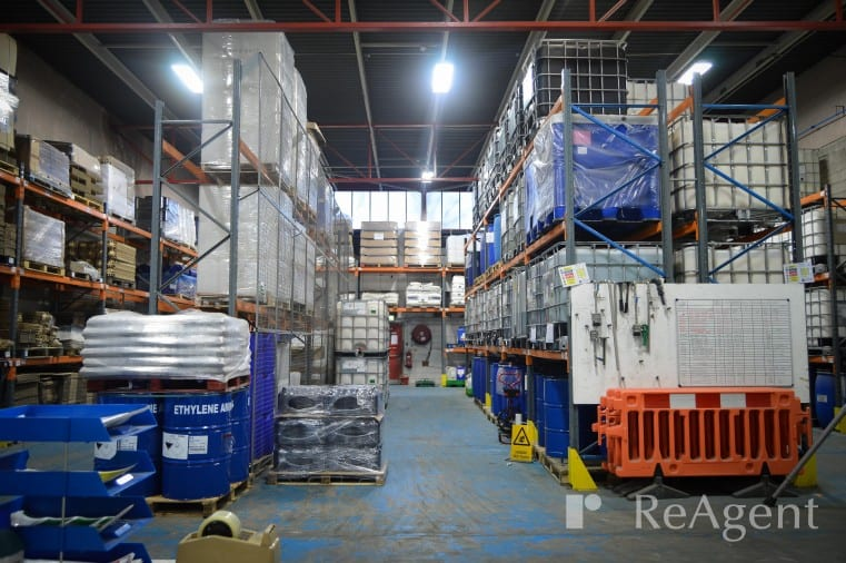 New Lighting at ReAgent Factory unit