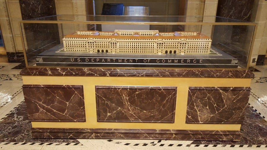 US Department of Commerce Model Building