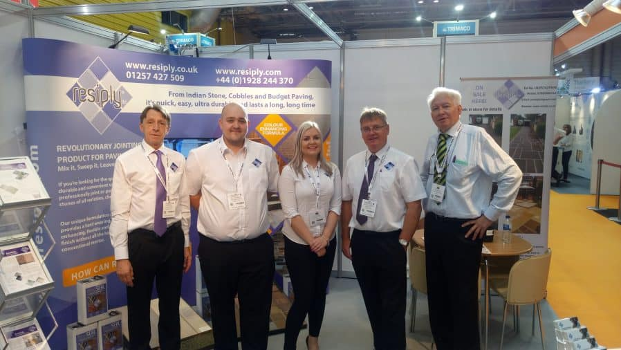 ReAgent attends Build Show 2017 at NEC Birmingham