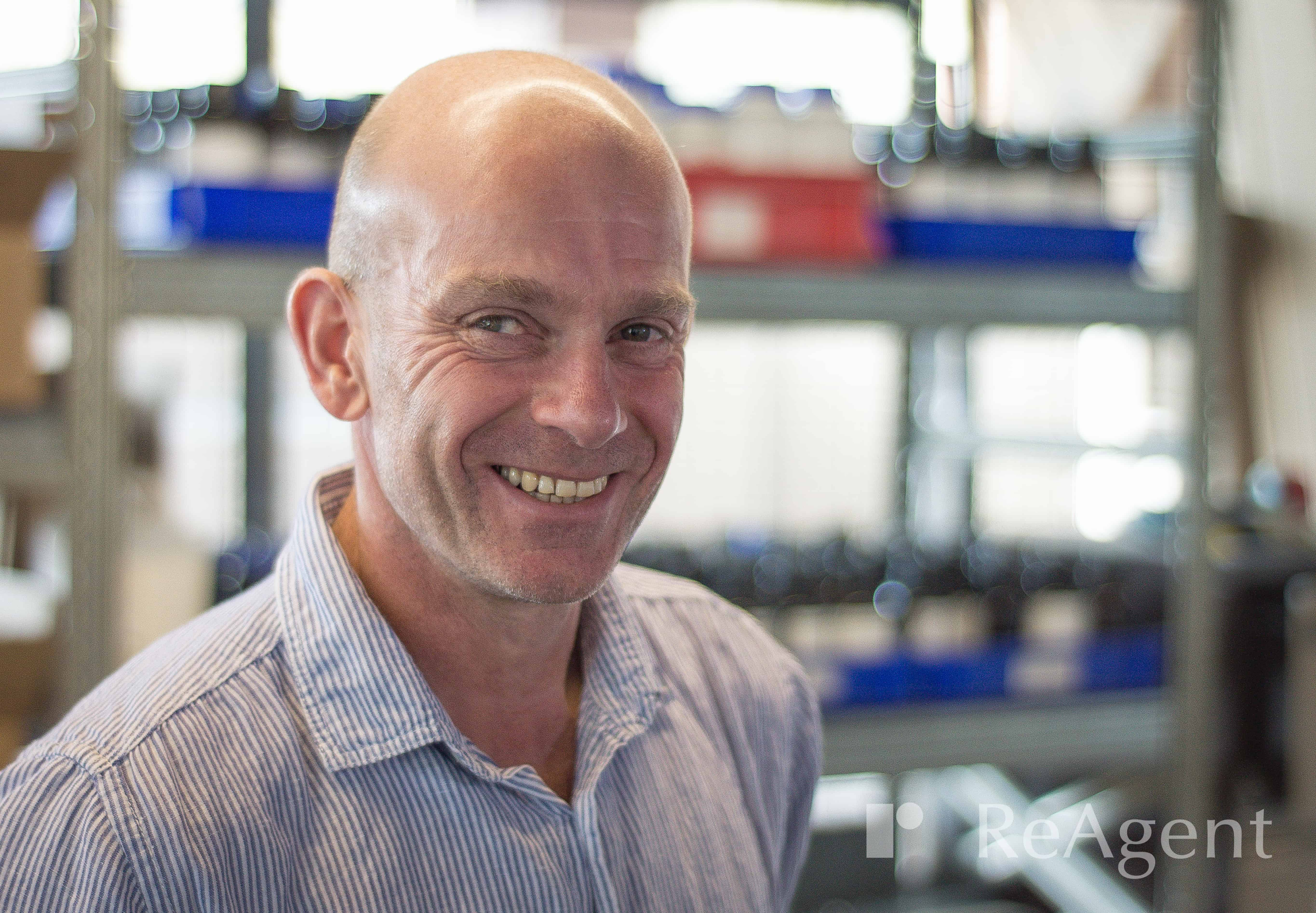 Head shot of Graham Bayliss, ReAgent's Systems Manager
